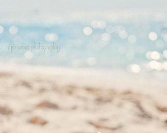 Ocean Photography, Beach Print, Ocean Print, Beach Art, Sparkling Sea, Beach Wall Art, Blue Abstract Art, Beach House Decor, Ocean Wall Art