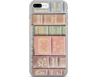 Book iPhone Case, Book Lover Gift, Book iPhone X Case, Vintage Books Phone Cover, Book Gift, Books Samsung Galaxy Case, Book Lover Gift