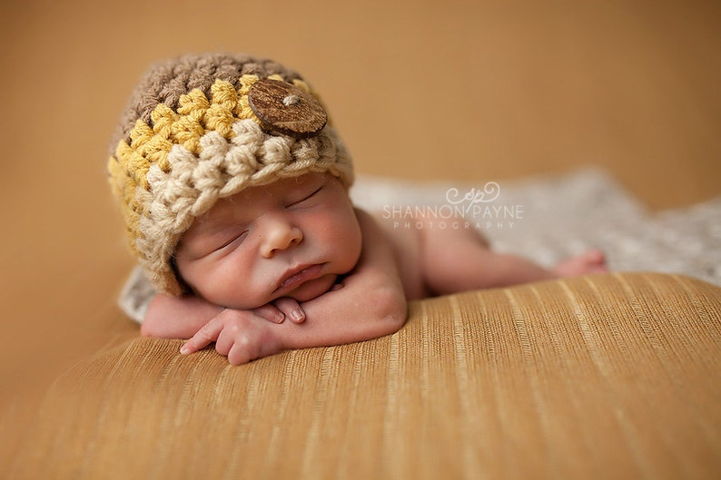 newborn size made to order Fall colored chunky baby hat