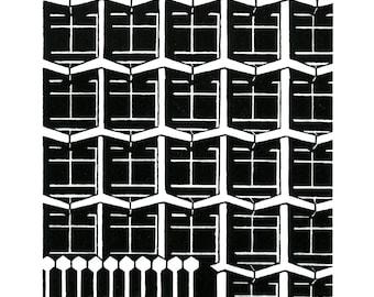 Centrepoint, London - Handprinted / Handpulled Linocut - Edition of 250