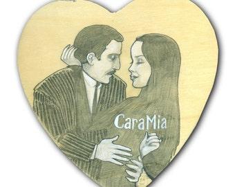 Morticia and Gomez 11x17 print