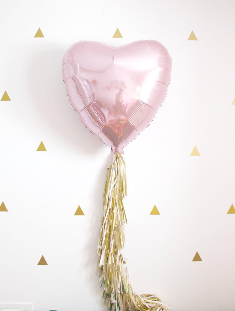 59d82c51df56 Rose gold heart tassel balloon dusty rose blush and gold etsy jpg 794x1050  Blush heart