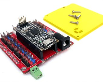 ROBOTIO NANO Brain Board Robotics Controller and MeCon Software App for ArmUno, MeArm, Armio, all RC Type Servo Robot Arm Projects