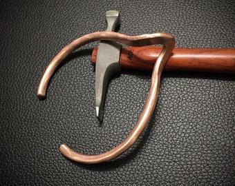 Twisted Copper Cuff (#7)
