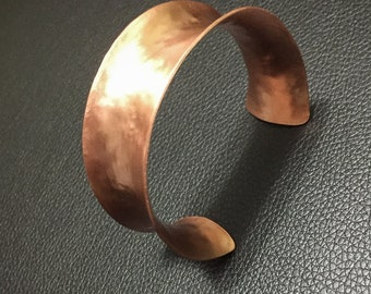 anticlastic copper cuff (#8)