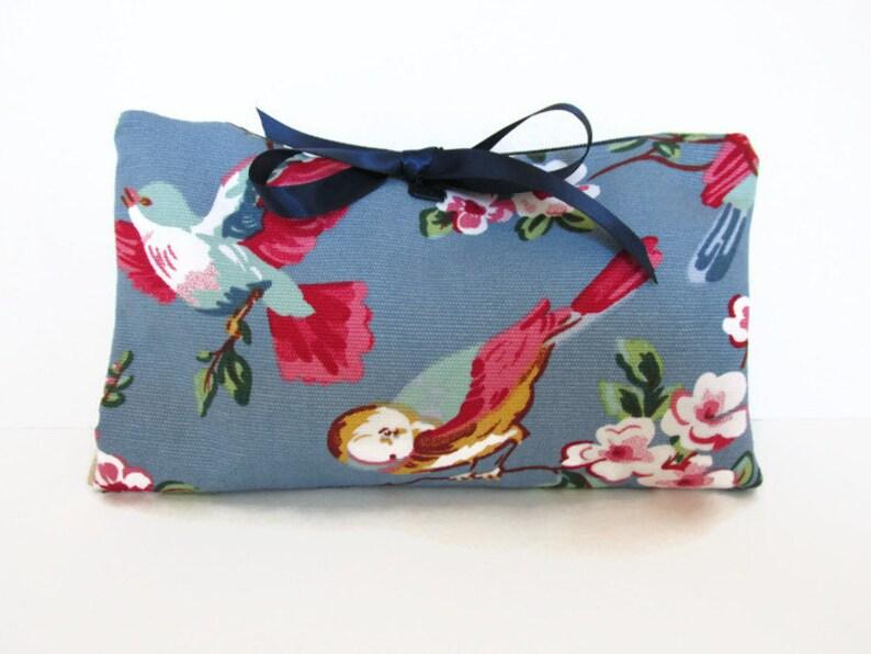 NEW Pretty Floral Print Canvas Hand Bag UK Seller