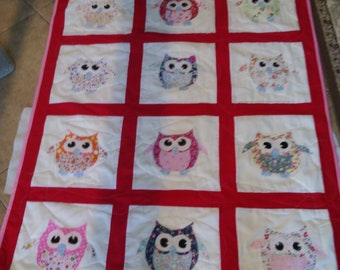 crib/lap quilt for kids