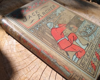 Blank Journal made from Antique Book Jack Archer Upcycled Recycled