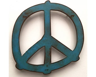 Peace Sign Art Etsy