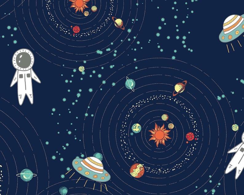 Digital Wall Art Kids Space Download