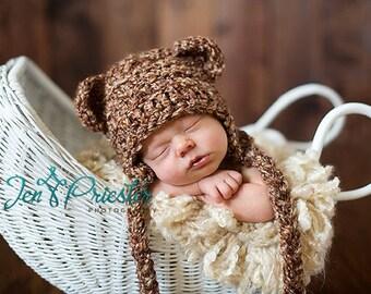 c1f14752382 Baby Bear Earflap Hat