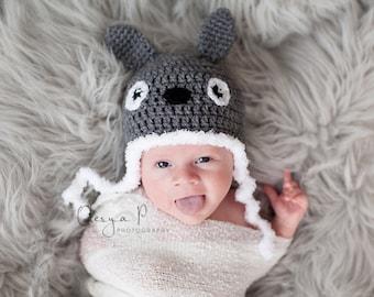 IN STOCK Baby Totoro Hat, Crochet Totoro, Totoro costume