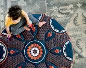 NEW! Baby play mat, baby shower gift, sensory play mat, baby activity mat, busy blanket, padded play mat, baby crib decor, modern nursery