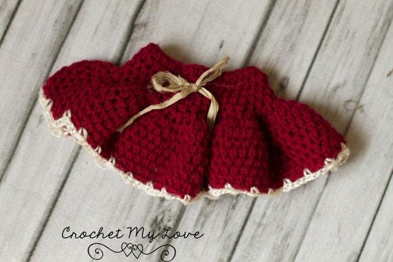 Crochet Pattern Baby Skirt Pattern Crochet Skirt Pattern Etsy