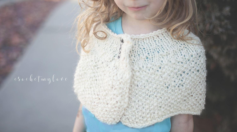 knitting patterns, capelet knitting pattern, easter knitting ...