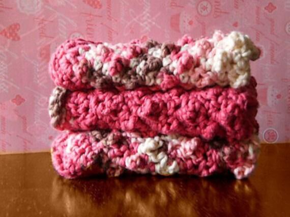 Crochet Pattern Washcloth Crochet Pattern Baby Gifts Etsy