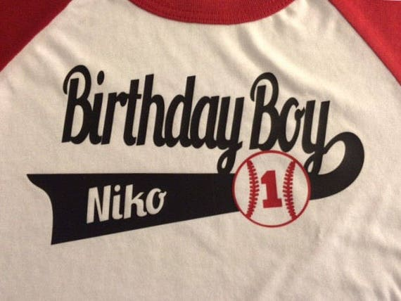Baseball Birthday Shirts Shirt For Entire Family