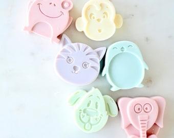 6-Pack Kids Natural Soap, Kids Natural Handcrafted Soaps, Cute Animal Shapes 6-Pack Soap, Kids Natural Animal Soaps, Kids Soap