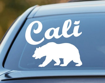 California Bear Decal, California Decal, California Bear Sticker, California Roots Decal, California Car Decal, California Bear, Cali, Decal