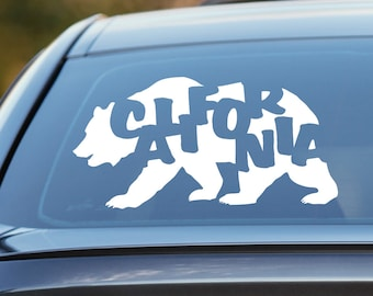 California Decal, California Bear Decal, California Roots Decal, California Car Decal, California Bear, CA, Laptop Sticker, Laptop Decal