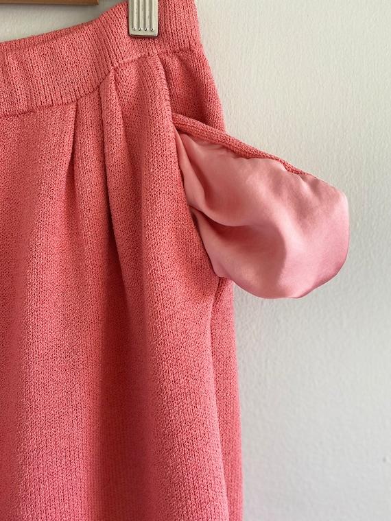 Vintage ST. JOHN Collection Bubblegum Pink Sweate… - image 6
