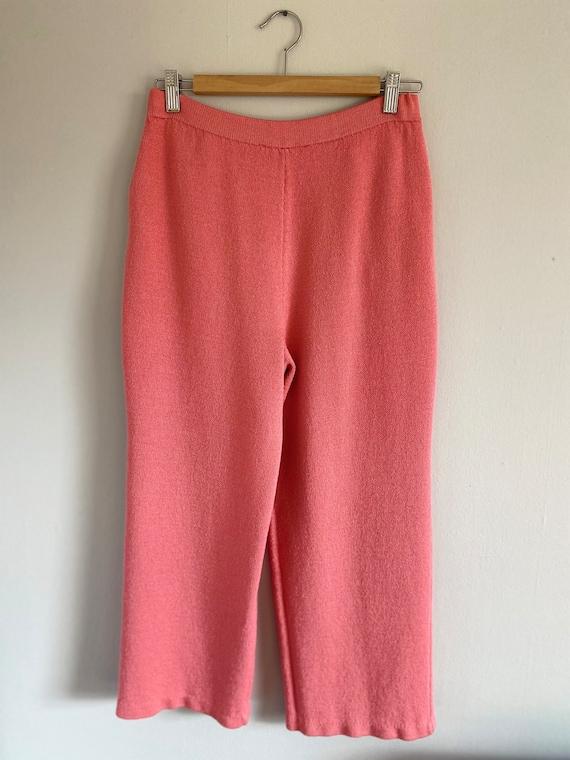 Vintage ST. JOHN Collection Bubblegum Pink Sweate… - image 4