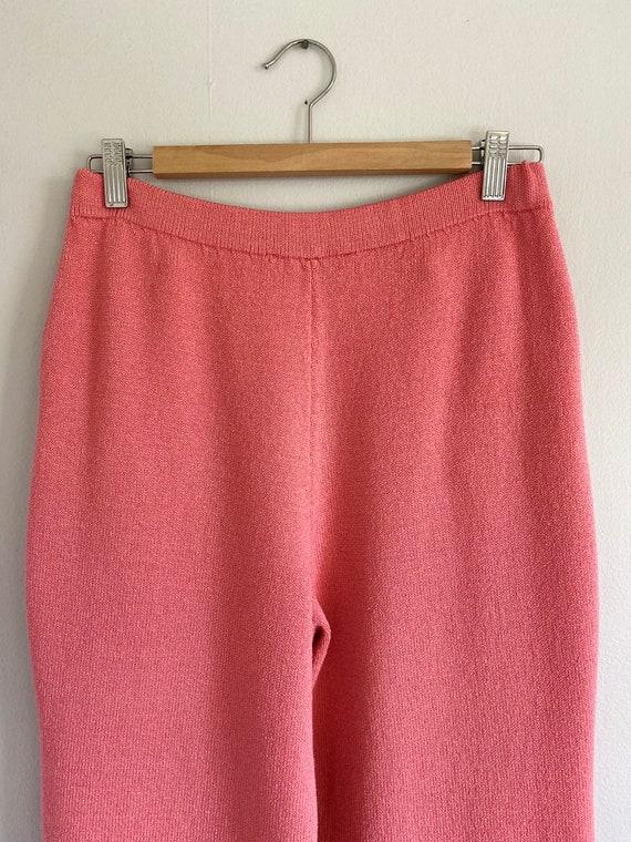 Vintage ST. JOHN Collection Bubblegum Pink Sweate… - image 8