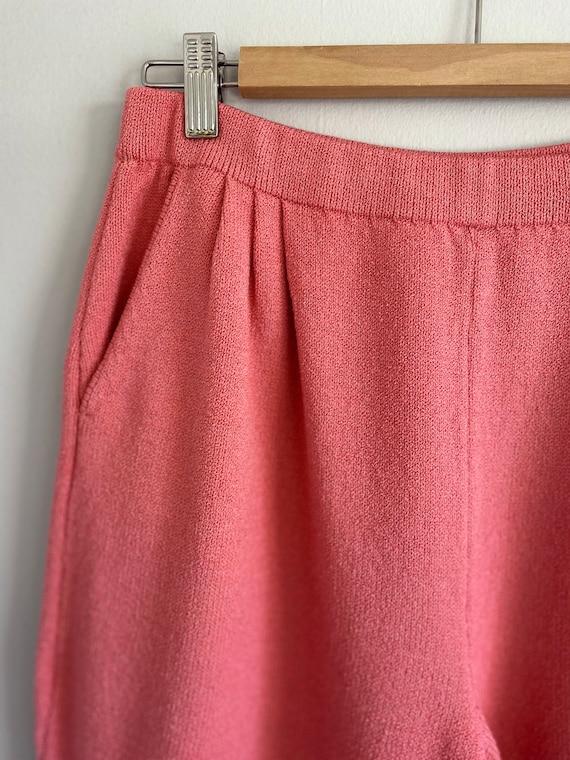 Vintage ST. JOHN Collection Bubblegum Pink Sweate… - image 5