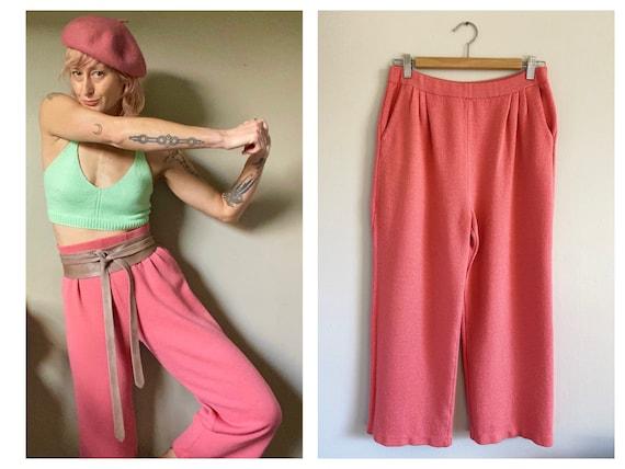Vintage ST. JOHN Collection Bubblegum Pink Sweate… - image 1