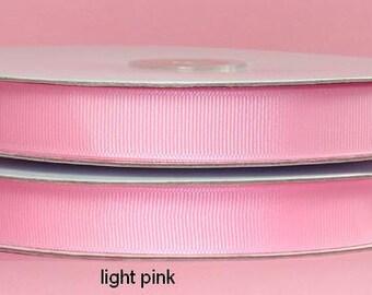 1 1/2 inch x 50 yds Grosgrain Ribbon -- LIGHT PINK