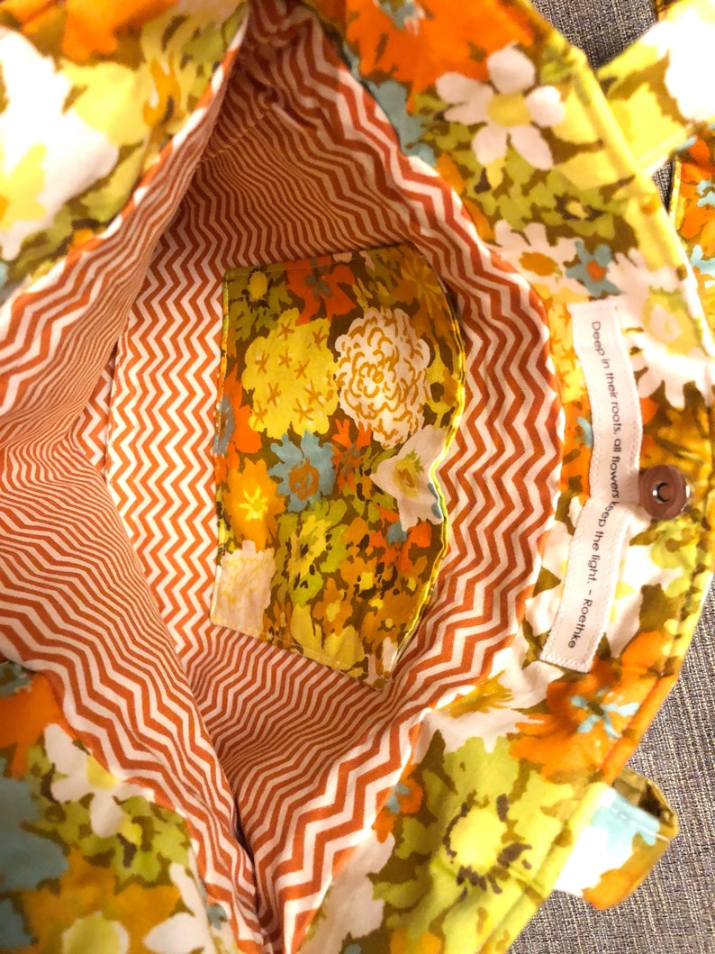 Handmade Tote Floral Purse Brand New and Adorable