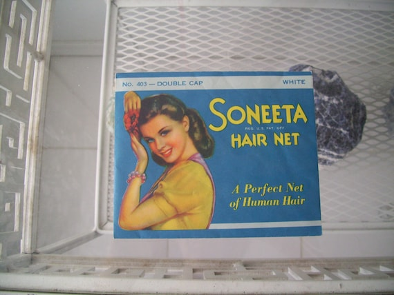 Vintage 40s Soneeta Hair Net
