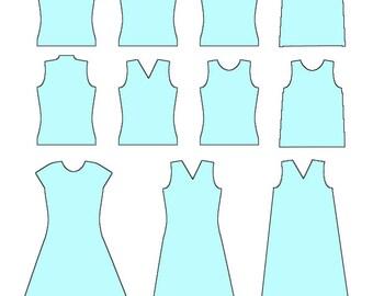 TUTORIAL pattern template construction wool layout sleeveless top dress tunic felt felted instructions nuno felting patterns tutorials