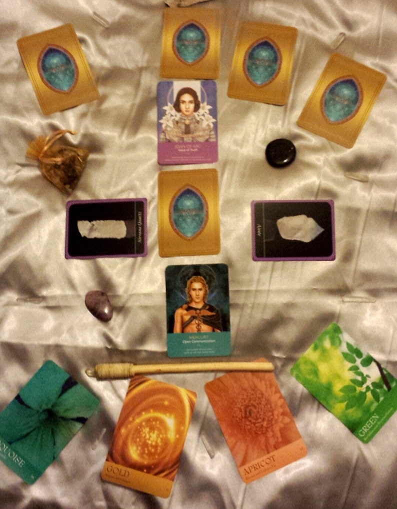 Happy Thoughts No. 13-Circle of GuidanceBlessing & Gratitude image 0