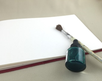 Large Watercolor Sketchbook - Made to Order