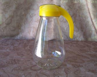 Vintage large syrup pitcher.  R591-1