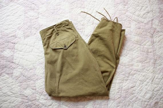 30s Boy Scouts of America Pants Green Jodphurs Cro