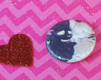 Hollyleaf and Fallen Leaves - Warrior Cats 1.25 in Pin Back Button