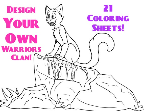21 Design Your Own Clan Downloadable Coloring Sheets Etsy