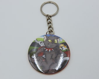 Lit Yellowbae - Yellowfang: Truth or Dare - Warrior Cats 2.25 in Keychain
