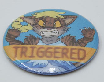 Triggeredclaw Elsa - Tigerclaw: Truth or Dare - Warrior Cats 2.25 in Magnet