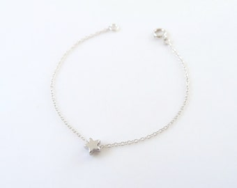Fine Jewelry Motivated Vintage Sterling Silver Anklet Made In Italy Sufficient Supply Fine Anklets