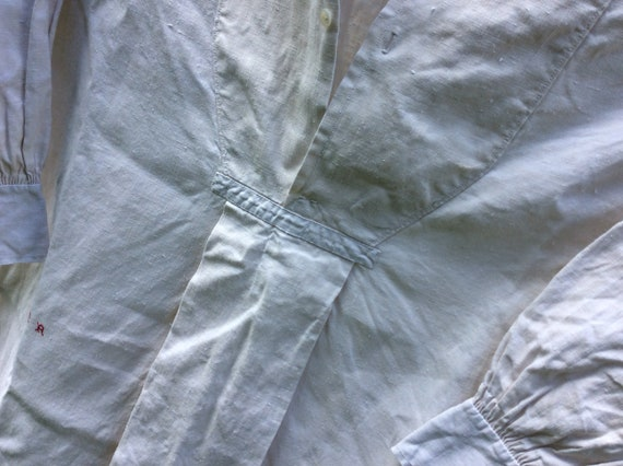 Antique French Linen Artists Smock/Shirt - image 6