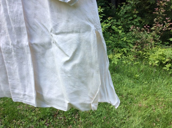 Antique French Linen Artists Smock/Shirt - image 4