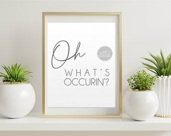 Oh, What's Occurrin'? Nessa Jenkins Quote Gavin and Stacey
