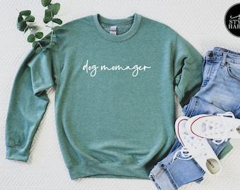 Dog Momager Fleece Sweatshirt