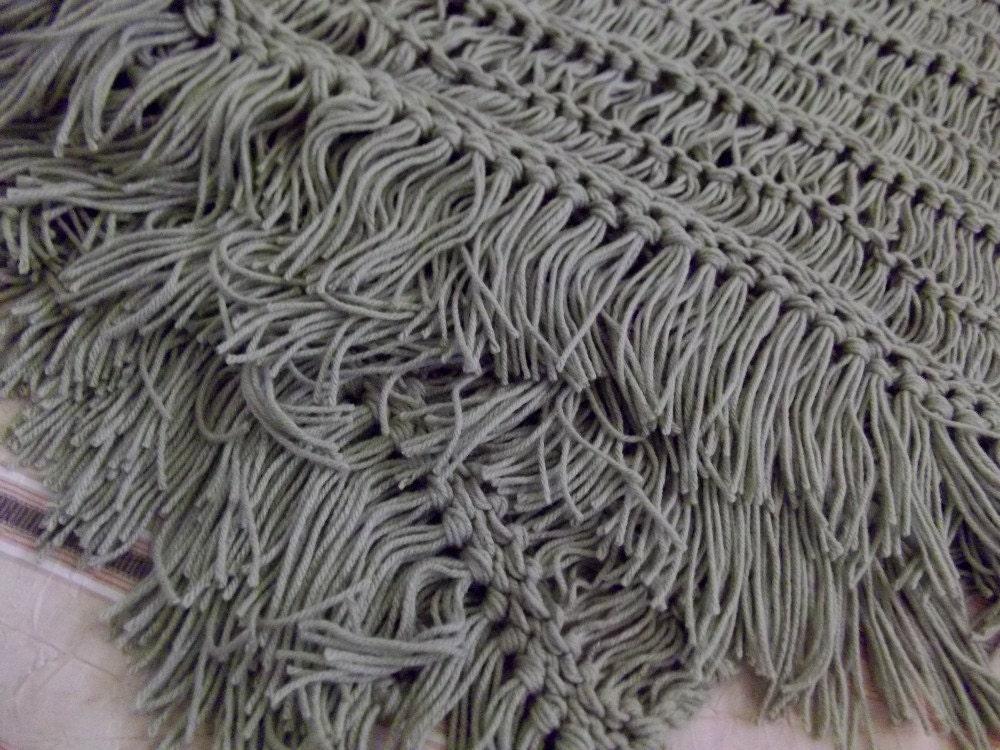 Short Fringe On Bedroom Home Decor Bed Throw Blanket Lap