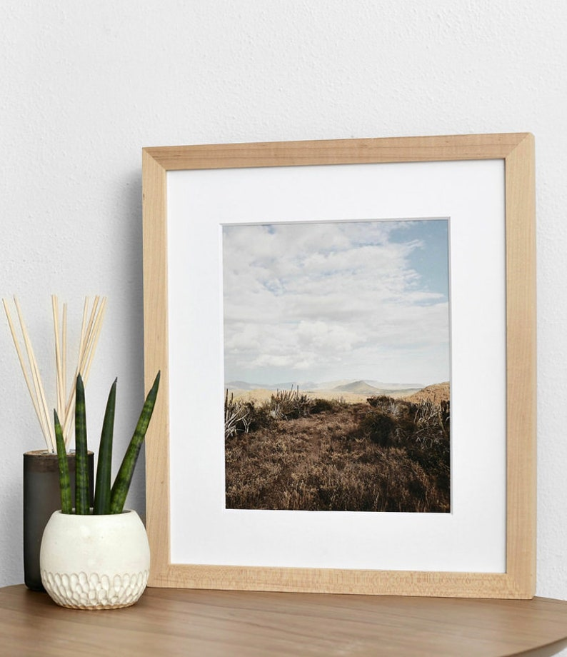 print and framed options Fine art Photography Modern Abstract Landscape wall art download Joshua Tree wall decor