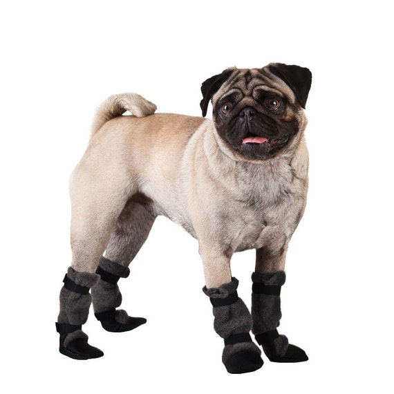PUG Dog Booties Dog Booties Winter Boots Dog Boots Dog  9c19df2d1