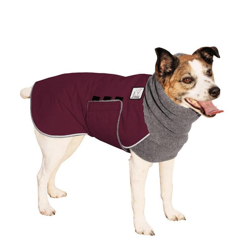 Dog Clothing Waterproof Dog Jacket Jack Russell Terrier Winter Clothes Fleece Neck Warmer JACK RUSSELL Winter Dog Coat Winter Coat